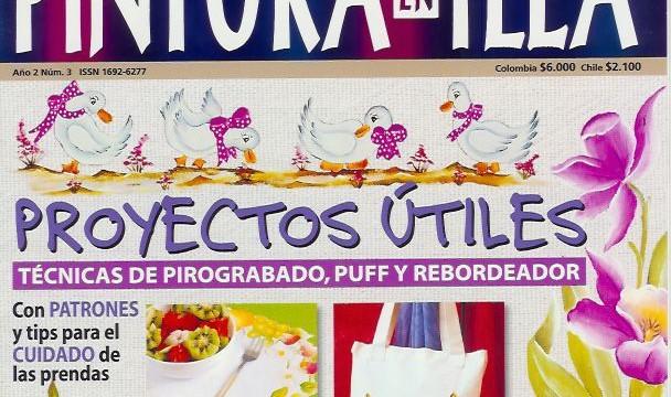 Revista Pintura en Tela Año 2 Nro 3