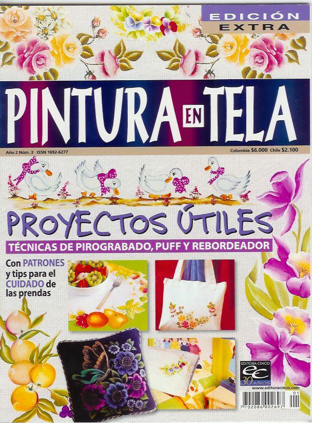 Pintura En Tela Revista Pintura En Tela A  O 2 Nro 3