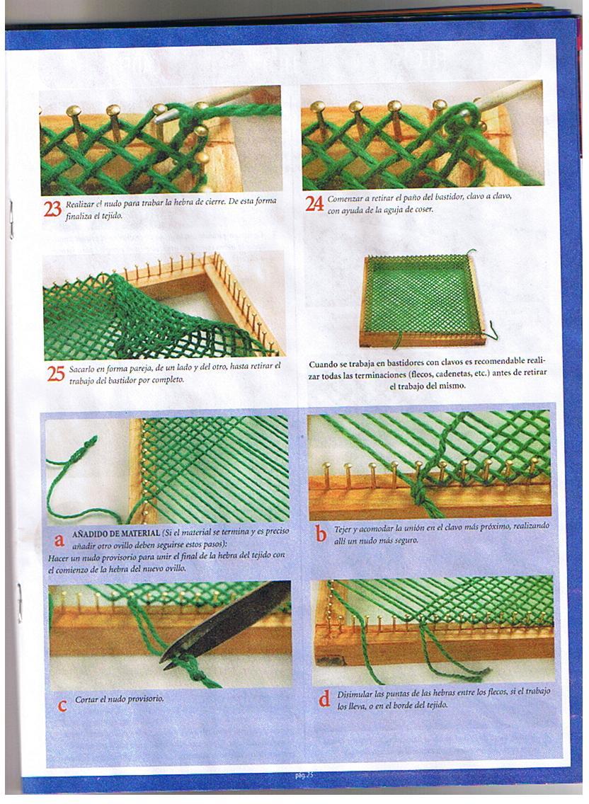 Como Poner Flecos Poncho A Telar Cuadrado   apexwallpapers.com