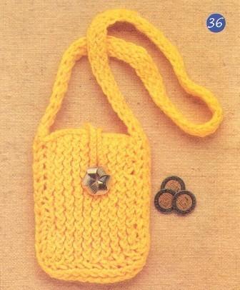 bolso para niña