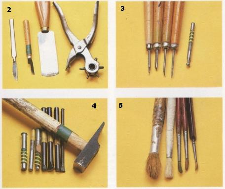 utiles artesanias en cuero