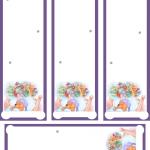 Marcadores de libros de Winnie The Pooh para Navidad
