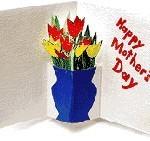Tarjeta Pop-Up para el dia de la madre