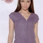 Como hacer una blusa en telar cuadrado