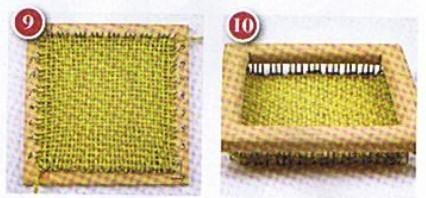 Tecnicas basicas en bastidor cuadrado