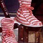Como hacer zapatos de lana