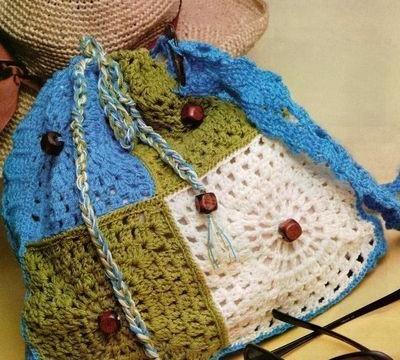 Como hacer un bolso en crochet
