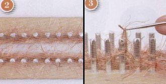 artesanias 23 Como hacer un gorro en telar maya