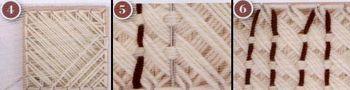 artesanias 24 Como hacer un poncho en telar