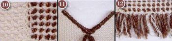 artesanias 43 Como hacer un poncho en telar