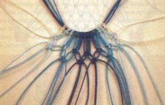 كولييه من المكرامي مع الباترون Collar-macrame-03
