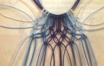 كولييه من المكرامي مع الباترون Collar-macrame-04