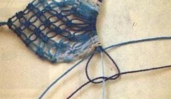 كولييه من المكرامي مع الباترون Collar-macrame-10