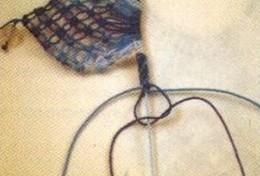 كولييه من المكرامي مع الباترون Collar-macrame-11