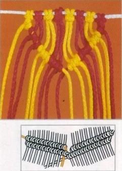 MACRAME GRAFICOS. Nudo-de-macrame-10