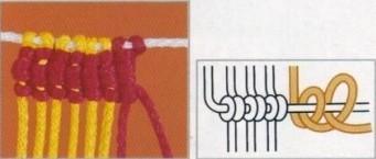 MACRAME GRAFICOS. Nudo-de-macrame-7