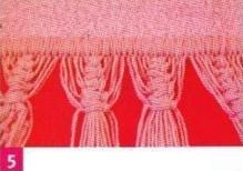 تزيين حواف منشفة الحمام بالمكراميه Toalla-decorada-macrame-05