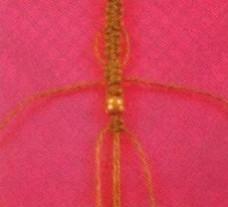 pulsera de macrame 05 Como hacer pulseras en macramé paso a paso