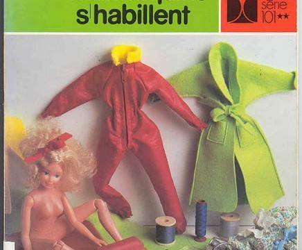 Moldes de Ropa de Barbie