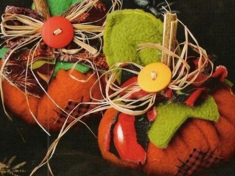 Calabaza de tela polar para Halloween