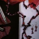 Conjunto de collar y pendientes