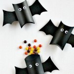 Murciélago de dulces para Halloween