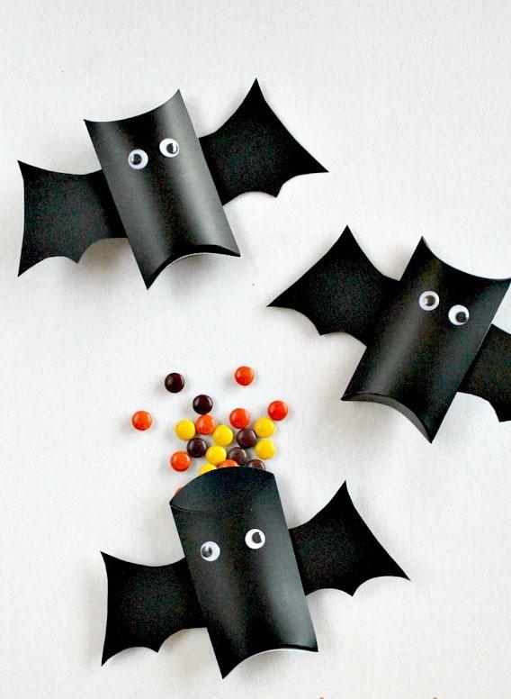 Murci lago de dulces para halloween artesanias artesanias - Murcielagos para halloween ...
