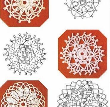 Graficos de Flores en Crochet