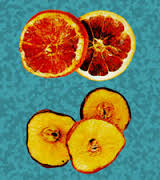 Fruta seca para decorar