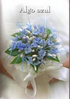 Ramo de flores Azul