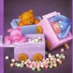 Pastilleros de Winnie Pooh y sus amigos en porcelana fria
